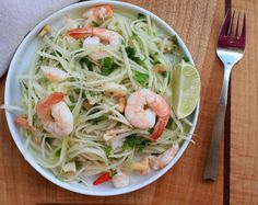 Gai Du Du- Vietnamese Green Papaya Salad with Shrimp   Girl Cooks World