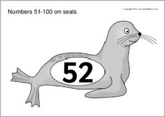 Numbers 51-100 on seals (SB11199) - SparkleBox