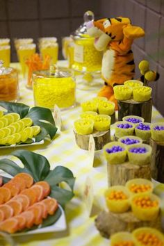Hostess with the Mostess® - Winnie the Pooh Inspired Desserts Table