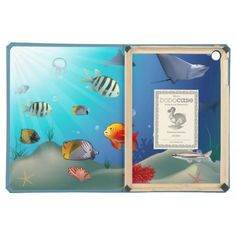 """50% OFF! TODAY ONLY! Use code: """" SOOMANYCASES """" ***Ends Nov. 26, 2014 11:59 pm PT*** Underwater scene iPad air cases"""