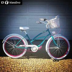 bicicleta urbana ANTONELLA  disponible en nuestra tienda #FavoriteBike #goodmorning #spanish #bicicleta #bicicletaurbana #thankyou #awesome #bike #is #plumbike #newin #bikelover #summertime #holiday #ride #bikeride #super #girl #cruiser #bicycle #spanishgirl #vintage #woman #love #thiscolor #so #happy #bedzie #jezdzone Repost @klara5no