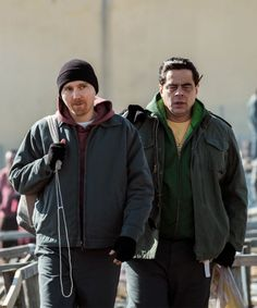 "How Matt & Sweat, The Inmates From ""Escape At Dannemora,"" Ended Up In Prison Paul Dano, Benecio Del Toro, Rain Jacket, Bomber Jacket, Series 3, Beautiful Boys, Prison, Documentaries, Movie Tv"