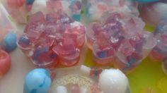 Multi colour glycerin  soaps!
