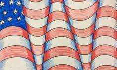 The Lost Sock : Optical Illusion American Flag Rustic Wooden American Flag, Metal American Flag, American Flag Waving, American Flag Painting, American Flag Pallet, American Flag Wall Art, Wooden Flag, Optical Illusions, Sock