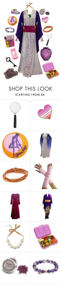"""""""Maya Fey-Ace Attorney"""" by conquistadorofsorts ❤ liked on Polyvore featuring Cedes, Hello Kitty, Chan Luu, Jean Patou, Marina Rinaldi, Yumbox, TFS Jewelry, L. Erickson and Lalique"""