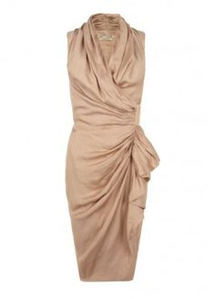 All Saints ruched dress, £198 - wedding guest dresses - wedding guest outfits