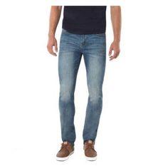 Jordache Men's Skinny Fit Denim (Blue) Pants, Size: 34 x 32