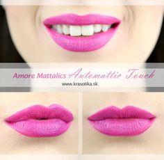 Obľúbené metalické odtiene tekutého rúžu Amore Mattallics od americkej značky Milani <3