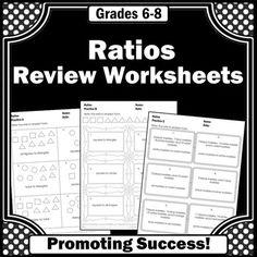 ratios worksheets