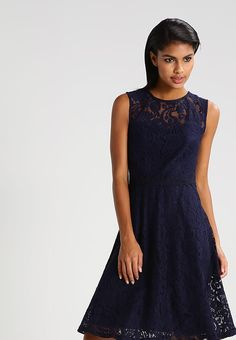 Dorothy Perkins Summer dress - navy blue - Zalando.co.uk