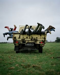 The Lemon Wagon and Kilkenny Children by Tim Walker