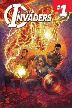100% Marvel - Los Nuevos Invasores #1 - Reseñas en Corto nos acerca a esta recomendable nueva serie #Marvel Now! protagonizada por Capitán América, #Namor, la #AntorchaHumana original y el Soldado de Invierno - http://www.comicdigital.com/33591_1-100_Marvel___Los_Nuevos_Invasores_1.html