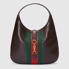 Borsa a spalla Jackie Soft in pelle - Gucci Borse 365458CWG1T2059   Guccihandbags Leather Hobo Handbags 102f1e3d3e6