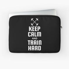 Fitness Design, Macbook Air Pro, Sleeve Designs, Train Hard, Back To Black, Keep Calm, Laptop Sleeves, Printed, Awesome