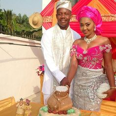 """Beautiful Bride @kwyvera on her traditional wedding day♥"" Photo taken by @ms_asoebi on Instagram, pinned via the InstaPin iOS App! http://www.instapinapp.com (04/07/2015)"