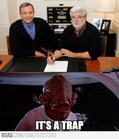 Disney buys Lucas Films. WHY GEORGE!? WHYYYYYYYY