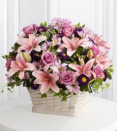 The FTD® Loving Sympathy™ Basket-Premium