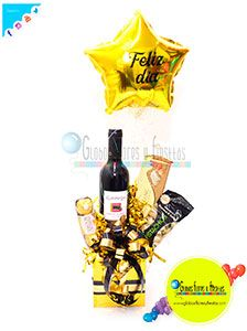 Globos, Flores y Fiestas Snack Recipes, Snacks, Sauce Bottle, Soy Sauce, Gift Baskets, Chips, Gifts, Food, Globes