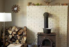 brick, bucket & firewood nook