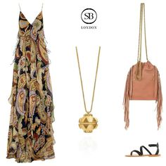 SB LONDON - Bella Ball Pendant - Laid-Back Luxury Outfit Inspiration