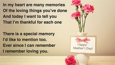 48 trendy birthday message for mother quotes dads Poems About Mothers Love, Mothers Day Verses, Happy Mothers Day Daughter, Happy Mothers Day Wishes, Happy Mothers Day Images, Mother Poems, Happy Birthday Mom, Happy Mother S Day, Mother Quotes