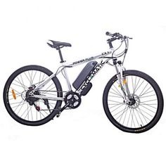 Buy Cyclamatic Power Plus Electric Mountain Bike with Lithium-Ion Battery Electric Bike Review, Best Electric Bikes, Electric Bicycle, Electric Scooter, Mountain Bike Frames, Mountain Bike Shoes, Mountain Biking, Mountain Bike Reviews, Electric Mountain Bike