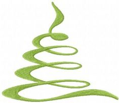 Christmas modern tree free embroidery design. Machine embroidery design. www.embroideres.com