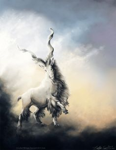 Perhaps one of my favorite pieces. This is a Markhor, a very gorgeous beast. Cricketwings.deviantart.com