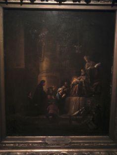 Otro cuadro,muy hermoso en un salón,este salón no tiene nombre,del Museo de Bellas Artes