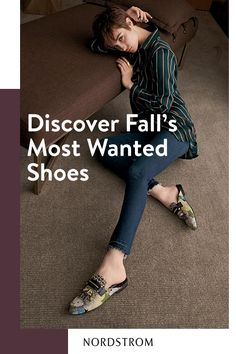 It's true what they say, you can never have too many shoes. Update your closet with the styles of the season – booties, mules, loafers, fashion sneakers and more. The looks you covet from the designers you love are all at Nordstrom.