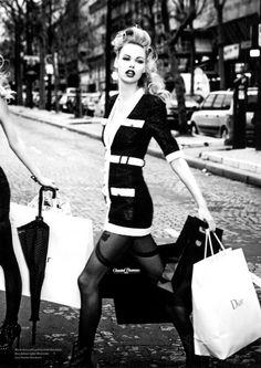 Emma Nielsen & Camilla Christensen - EDITORIAL - Vs Magazine - Models 1 Blog  Ellen von Unwerth