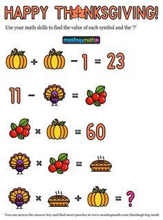 Thanksgiving Math Worksheets Middle School 12 Thanksgiving Math Activities for Grades 1 8 — Mashup Math 1st Grade Math Games, 5th Grade Worksheets, Kindergarten Math Games, Social Studies Worksheets, Printable Math Worksheets, Math Activities, Maths Puzzles, Free Printable, Funny Math Jokes