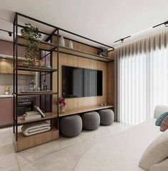 Living Room Themes, Living Room Colors, Living Room Modern, Home And Living, Living Room Partition, Room Partition Designs, Home Room Design, Home Interior Design, House Design