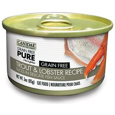 Canidae Grain Free Pure Trout Can Cat Food 12pk >>> More info could be found at the image url.
