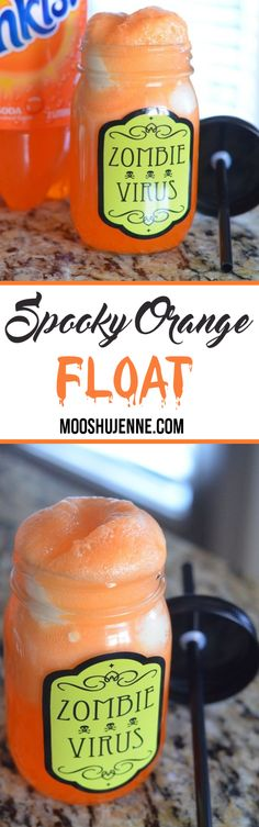 Spooky Orange Float.