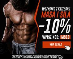Produkty dla sportowców do budowy masy ora siły mięśni z 10% rabatem => http://www.kulturystyka.sklep.pl/Masa-i-sila,c1001.html | Składając zamówienie wpisz w podsumowaniu kod rabatowy MS10 i zatwierdź zielonym przyciskiem |  #masa #siła #mięśnie #muscles #body #kulturystyka #bodybuilding #fitness #dieta #rabat #sklep #gliwice #kulturystyka_sklep