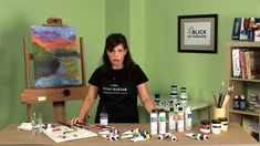 Atelier Acrylic Paints for access to paints anytime. #Acrylics #Painting #Art Techniques