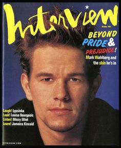 CLASSIC WAHLBERG !!! • Click N' L@@K !!!  http://www.ebay.com/itm/Andy-Warhols-Interview-Magazine-MARK-WAHLBERG-October-1997-RARE-Hard-To-Find-/130895150869?pt=Magazines=item1e79f57f15