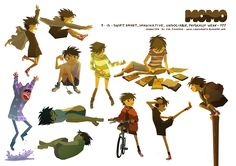 Noclip - momo_poses ★ || CHARACTER DESIGN REFERENCES キャラクターデザイン  • Find more at http://www.pinterest.com/competing/