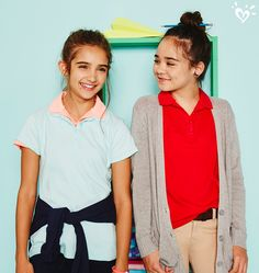 A polo (or two!) for every girl, every day. Wear them your way!