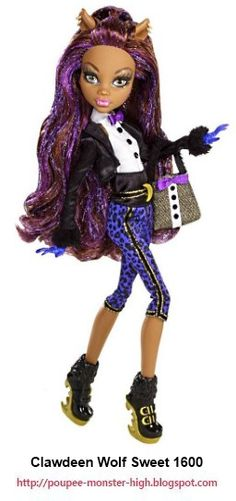 1000 images about clawdeen wolf on pinterest wolves the dance and usa - Tenue monster high ...