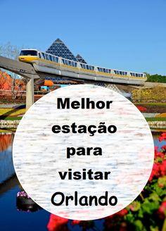 Qual a melhor estação do ano pra fazer a sua sonhada viagem a Orlando? Tá tudo explicadinho no blog!