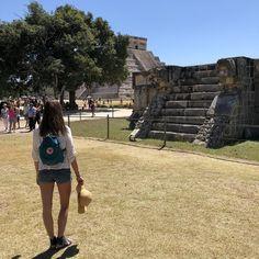 Chichen Itza Mayan Pyramid- 7 wonders of the world, Yucatan Peninsula, Cancun, Mexico Mexico Destinations, Travel Destinations, Cancun Mexico, Mexico Travel, Snorkeling, Wonders Of The World, Road Trip Destinations, Diving, Destinations