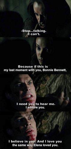 The Vampire Diaries TVD 7X21 - Damon & Bonnie