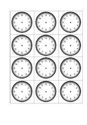 ... HORA on Pinterest | Telling time, Time in spanish and Clock worksheets