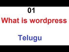 What is wordpress in telugu - How to learn wordpress online - Over view of wordpress - https://www.howtowordpresstrainingvideos.com/wordpress-training-videos/what-is-wordpress-in-telugu-how-to-learn-wordpress-online-over-view-of-wordpress/