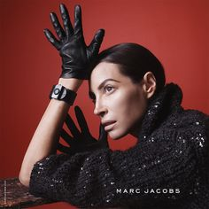 Christy Turlington Burns • Marc Jacobs Fall '15 campaign photographed by David Sims