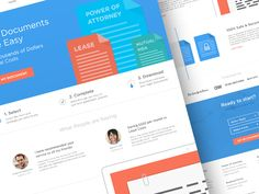 Legal Documents - Landing Page by Helder Leal