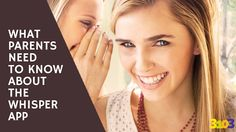 What parents need to know about the Whisper app | 3103 Communications #CyberSavvyParenting #Whisper #Teenagers #Parenting