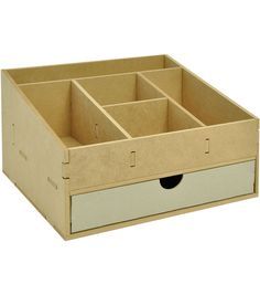 Use your creative skills to transform the Kaisercraft Beyond The Page Scrapping Organizer into a storage box for all your crafting embellishments. This MDF organizer is a blank slate which can be embe Scrapbook Supplies, Craft Supplies, Scrapbooking, Wood Projects, Woodworking Projects, Crafty Projects, Woodworking Plans, Wood Plastic, Desk Tidy